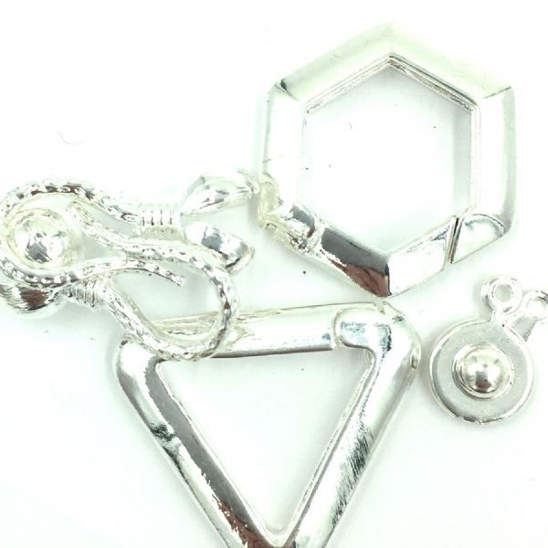 Misc Clasps - Silver Plated